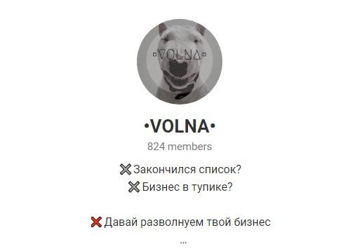 Канал •VOLNA• Телеграмм